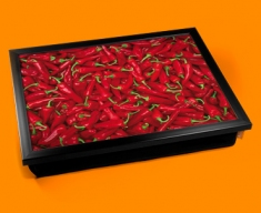Chillies Cushion Lap Tray