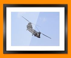 Chinook Boeing Plane Framed Print
