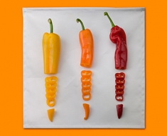 Chopped Chillies Napkins (Set of 4)