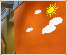 Clouds Set Wall Sticker