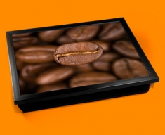 Coffee Beans Cushion Lap Tray