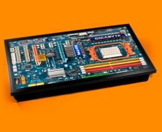Coloured Circuitboard Laptop Lap Tray