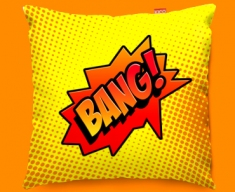 Comic BANG Funky Sofa Cushion 45x45cm