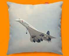 Concorde BAC Front Plane Sofa Cushion