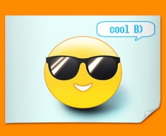Cool Emoticon Poster