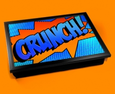 Crunch Comic Cushion Lap Tray