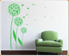 Dandelion 02 Wall Sticker