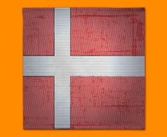 Denmark Flag Napkins (Set of 4)