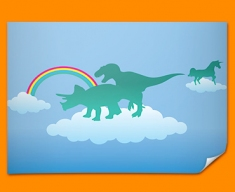 Dino Heaven Poster