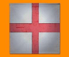 England Flag Napkins (Set of 4)
