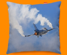 F 16 Fighting Falcon Lockheed Martin Plane Sofa Cushion