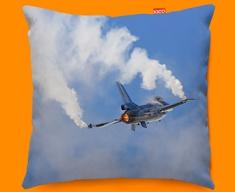 F 16 Fighting Falcon Lockheed Martin Plane Sofa Cushion