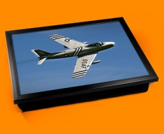 F 86 Sabre North American Aviation Plane Cushion Lap Tray