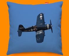 F4 Corsair Vought Plane Sofa Cushion