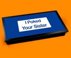 Poke Sister Laptop Lap Tray