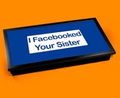 Facebook Sister Laptop Lap Tray