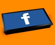 Facebook F Laptop Tray