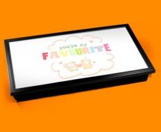 Favourite Typography Laptop Tray