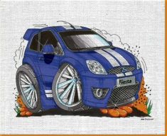 Fiesta ST Canvas Art Print