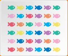 Fish Set Wall Sticker
