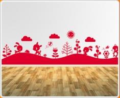 Forest Mural 1 Wall Sticker