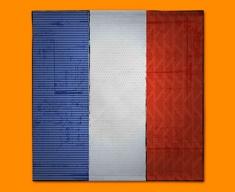 France Flag Napkins (Set of 4)