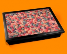 Fruit Pastilles Cushion Lap Tray