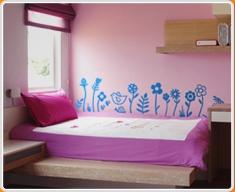 Fun Flowers Wall Sticker