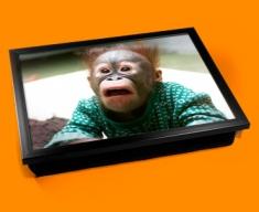 Funny Monkey Cushion Lap Tray