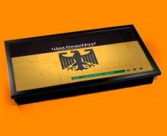 Germany 74 Laptop Lap Tray