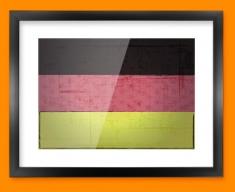 Germany Flag Framed Print