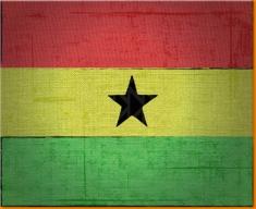 Ghana Canvas Art Print