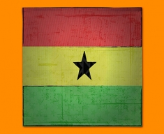Ghana Flag Napkins (Set of 4)