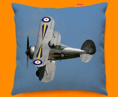 Gladiator Gloster Plane Sofa Cushion