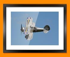Gladiator Gloster Plane Framed Print