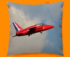 Gnat Folland Plane Sofa Cushion