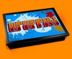 Graffiti Cushion Lap Tray