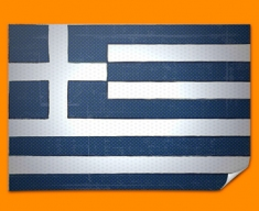 Greece Flag Poster