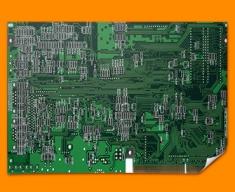 Green Circuitboard Poster