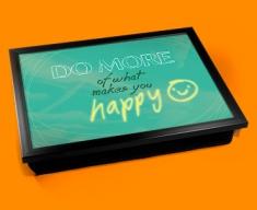 Happy Typography Lap Tray