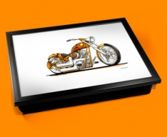 Harley Davidson Cushion Lap Tray