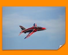 Hawk BAE Plane Poster