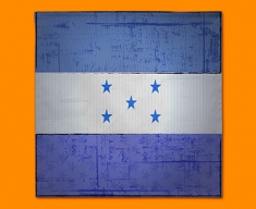 Honduras Flag Napkins (Set of 4)