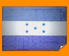 Honduras Flag Poster