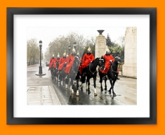 Horse Guards Framed Print