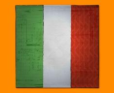 Italy Flag Napkins (Set of 4)