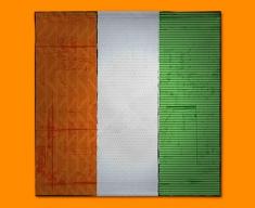 Ivory Coast Flag Napkins (Set of 4)
