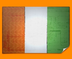Ivory Coast Flag Poster