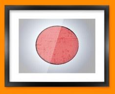 Japan Flag Framed Print