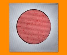 Japan Flag Napkins (Set of 4)
